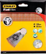 Диск алмазний відрізний Stanley STA38007 d=125 мм, 22,2 мм,керамiка 125x1,6x22,2 кераміка STA38007