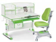 Комплект мебели детский Evo-kids Evo-50 Z Green + кресло Y-110 KZ