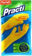 Рукавички гумові Paclan надміцні р.M 1 пар/уп. жовті