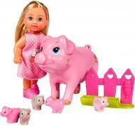 Набор с куклой Simba Steffi & Evi Вагітна свинка