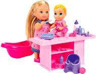 Кукольный набор Simba Steffi & Evi Няня с малышом