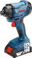 Гайковерт ударний акумуляторний Bosch Professional GDR 180-LI 18 В/ 3,0 Ач Li-ion 06019G5120