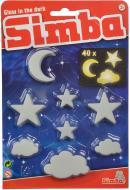 Набір Simba сяючих елементів Зірки, хмарки та місяці 7822343
