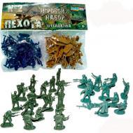 Игровой набор Colorplast Masterplay 1-041 Пехота №2