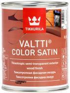 Пропитка (антисептик) TIKKURILA Valtti Color Satin полумат бесцветный 0,9 л