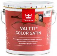 Пропитка (антисептик) TIKKURILA Valtti Color Satin полумат бесцветный 2,7 л