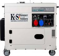 Генератор дизельний Konner&Sohnen KS 9200 HDES-1/3 ATSR