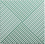 Решітка з додатковим обрамленням 0,4x0,4 м зелена