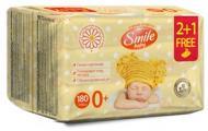 Smile Baby МУЛЬТИПАК Екстракт ромашки і алое 2+1 180 шт.