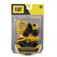 Набір іграшок CAT Міні-техніка Самоскид та Екскаватор 82278