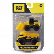 Набір іграшок CAT Міні-техніка Самоскид та Колісний навантажувач 82279