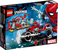 Конструктор LEGO Super Heroes Marvel Порятунок на мотоциклі з Людиною-Павуком 76113