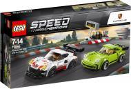 Конструктор LEGO Speed Champions Porsche 911 RSR і 911 Turbo 3.0 75888
