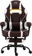 Крісло GT Racer X-2748 Dark Brown/White коричнево-білий