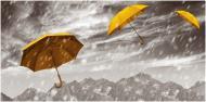 Плитка Tiger Жовта парасолька-2 29,7x60