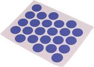 Заглушка самоклейка на мініфікс d20 мм 24 шт. синій DC