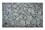 Килимок Дубенський завод ГТВ Камінь річковий кругляк К-602-26 45х75 см