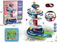 Ігровий набір Shantou Паркінг Поліція зі світловими і звуковими ефектами білий OTE0650295