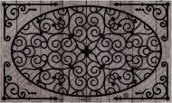 Килимок Дубенський завод ГТВ Ковка сіра К-602-45 45x75 см