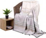 Плед Soft Impression Decent 150x200 см сірий із бежевим Biederlack