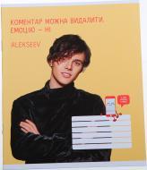 Зошит ДоброPhone 2 Alexeev в клітку 18 аркушів Мрії збуваються