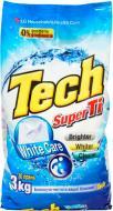 Пральний порошок для машинного та ручного прання Tech Super Ti для білої білизни 3 кг