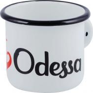 Чашка эмалированная I Odessa 400 мл Idilia