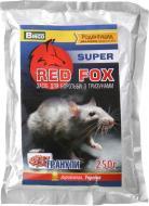 Родентицидний засіб від гризунів Red Fox super 250 г