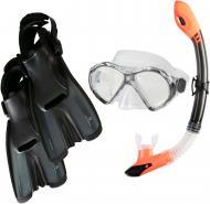 Набор для плавания TECNOPRO ST8_3 289431-900883 289431-900883 р.L черныйоранжевый