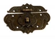 Замок декоративний стара бронза 86х65 мм 1 шт.