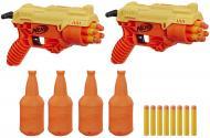 Игровой набор Hasbro с мишенями и двумя бластерами Nerf Alpha Strike Cobra RC-6 E7565
