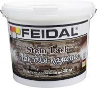 Лак для каменю Stein Lack Feidal шовковистий мат 5 л прозорий