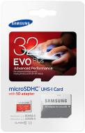 Карта пам'яті Samsung miсroSDHC 32 ГБ UHS Speed Class 1 (U1) EVO Plus (MB-MC32DA/RU)