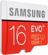 Карта пам'яті Samsung miсroSDHC 16 ГБ UHS Speed Class 1 (U1) EVO Plus (MB-MC16DA/RU)