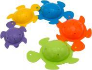 Игровой набор для ванной Baby Team Веселые черепашки 5 шт