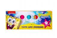 Тісто для ліплення Перо SpongeBob SquarePants 9 кольорів 122177