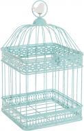 Клетка декоративная с птичкой 31 см 777-027