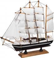 Яхта парусна декоративна Біла Мрія 271-071 32х31 см