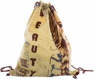 Екосумка-рюкзак Краса бежевий