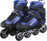 Роликовые коньки MaxxPro YX-0119-6ZM р. 43 сине-черный