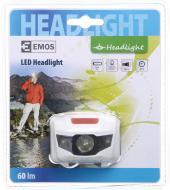 Ліхтарик на голову Emos P3521 1W + 2 червоні 85 lm 65 м