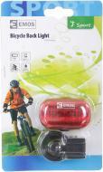 Ліхтар велосипедний Emos P3910-1 червоний чорний
