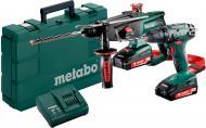 Набір акумуляторного інструменту Metabo Сombo Set 2.3.2 18 v 685083000