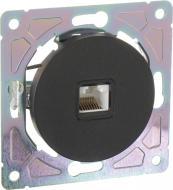 Механізм розетки комп'ютерна HausMark Bela без кришки чорний SNG-SCP.RD20MG1PC-BK
