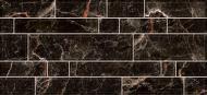 Плитка InterCerama PLAZA чорна 95 082 23x50