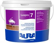 Краска акрилатная водоэмульсионная Aura® Luxpro 7 шелковистый мат белый 10л