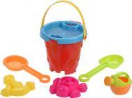 Набор для песочницы Same Toy Ведерко 6 элементов 909Ut-1