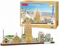 3D-конструктор CubicFun CITY LINE BARCELON