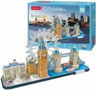 3D-конструктор CubicFun CITY LINE LONDON