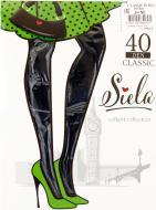 Колготки SIELA CLASSIC 40 den nero р. 3 чорний